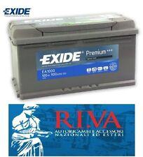 BATTERIA EXIDE EVOLUTION PREMIUM EA1000 100AH + DX VOLKSWAGEN TOUAREG DAL 04