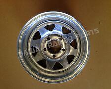 """GALVANISED Sunraysia 14"""" Ford Rim 14X6! Trailer Parts"""