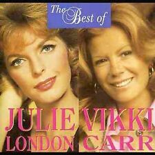 The Best Julie London & Vikki Carr 20 Track CD Album VGC