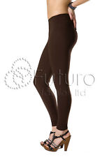 Womens Cotton Leggings Full Length Plus Sizes 8 10 12 14 16 18 20 22 26 28 30