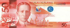 50 PHP Philippine pesos NGC (new style) crisp uncirculated bills currency