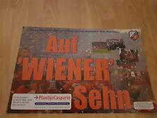 FC Utrecht v Austria Wien 16-12-2004 UEFA paper hand clapper / voetbalklapper
