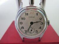 Vintage Soviet Wrist Watch Pobeda 12 Red 1952 USSR russian