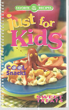 Cookbook All Time Favorite Recipes Just For Kids Cool Snacks Childrens 2003
