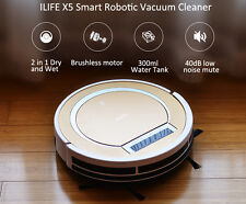 New 2 in 1 ILIFE X5 Smart Robotic Vacuum Cleaner  -  TYRANT GOLD