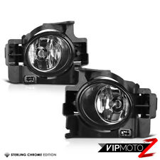 For 08-12 Altima 2DR Coupe V6 D32 VQ35DE Crystal Clear Fog Lights Bumper Lamp