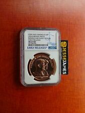 2016 BRONZE MEDAL RONALD NANCY REAGAN NGC MS67 RD FROM COIN CHRONICLES SET 16PA