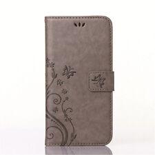 Handy Tasche für Samsung Galaxy S6 edge Flip Cover Case Schutz Schale Wallet
