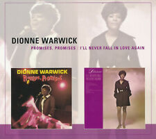 """Dionne Warwick """"Promises, Promises""""/""""I'll Never Fall in Love Again"""" 2-on-1 CD"""