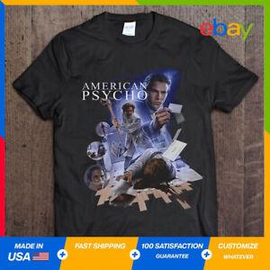 New American Psycho T Shirt Movie HORROR Short Sleeve Unisex Graphic S-5XL