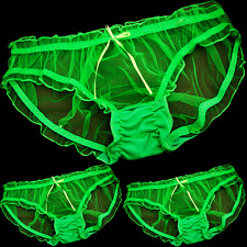 Panties Briefs New G-string 3 Knickers Women Fashion Thongs Nylon Lace Underwear