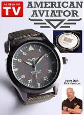 American Aviator Watch Military Original Look Unisex Collectible Fan Gift NIP