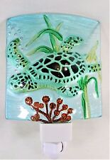 Sea Turtle Glass night light sea life decor