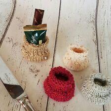 After Dinner Mint Santa sack Christmas table gift, Knitting Pattern