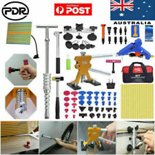 Paintless Dent Removal Puller Lifter Slide Hammer Glue Tabs PDR Repair Tools Kit
