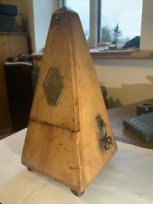 Antique Maelzel Metronome With Chime 1/4 & 1/6