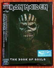 IRON MAIDEN - THE BOOK OF SOULS  Deluxe Book Ltd Edition 2CD Japan + OBI  SEALED