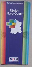 ) MOBIL carte à lecture rapide région Nord Ouest