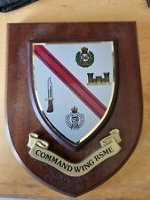More details for royal engineers command wing rsme wooden plaque