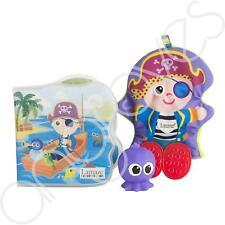Lamaze Yo HO Horace Pirate Bathtime Story Book & Bath Toy Set Baby Shower Gift