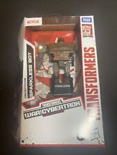 TRANSFORMERS WFC SPARKLESS BOT IN HAND Netflix War For Cybertron Htf New FS WOW