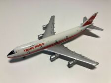 Occasion - Miniature Avion TWA TRANS WORLD - Boeing 747 - SCHABAK