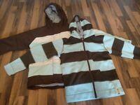 Kids 2in1 snowboard jacket size M BONFIRE #London 481