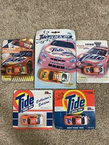 RICKY RUDD TIDE Collectors Edition Race Car Lot Of 5 Die Cast 1994, 95, 98, 99