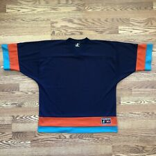 vintage 90s Blank Logo Athletic Football Hockey Jersey Xl dolphins