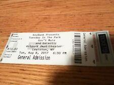 Gov't Mule, Galactic Concert Ticket Art Park