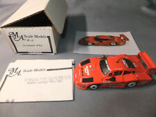 "MA Scale Models 1:43 1984 Porsche 935 ""Moby Dick"" Gilmore Resin Handmade Model"
