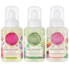 Michel Design Works Mini Foaming Hand Soap Set of 3 Lily Floral Spice Scent