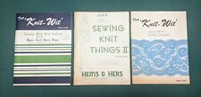 1970's Sewing Books By Mary Cook Vintage - Lot Of 3 Books