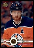 2019-20 Series 2 Exclusives Parallel #442 Adam Larsson /100 Edmonton Oilers