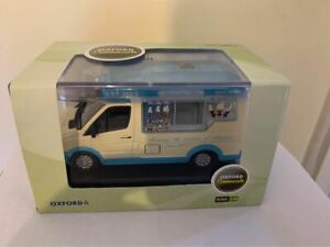 OXFORD DIECAST WM007.  Whitby Mondial Ice Cream Van - Piccadilly Whip 1/43 scale