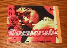 Cornershop when I Was Born for the 7th Time Postcard Promo 6x4