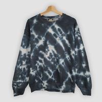 Black Stripe TIE DYE SWEATER Hoodie Dyed tiedye New Unisex Festival tshirt UK