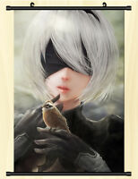 NieR Automata YoRHa No 2 Type B 2B Poster Wall Scroll Painting 60*90cm #D
