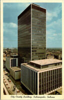 INDIANAPOLIS, INDIANA City County Building Marion County IN Postcard