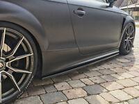 Cup Seitenschweller Schweller Schwert Sideskirts ABS für Audi TT RS TTS 8J