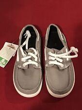 Sanuk Kids Lil Deck Hand Shoes; Size 1