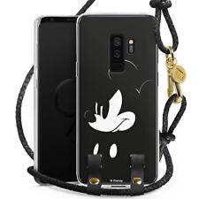 Samsung Galaxy S9 Plus Carry Case Hülle zum Umhängen Handykette Mickey Mouse Mad