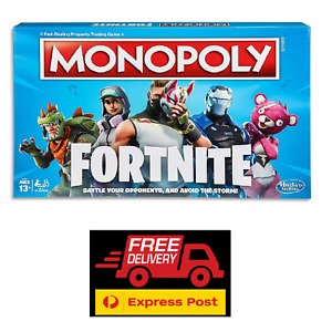Monopoly - FORTNITE Edition - Board Game - FREE EXPRESS Shipping