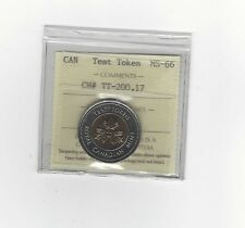 **Test Token**ICCS Graded Canadian, Toonie, Two Dollar, **MS-66**TT-200.17
