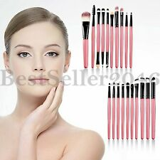 20pcs Pro Makeup Brushes Set Face Eye Shadow Lip Cosmetics Blending Brush Tool