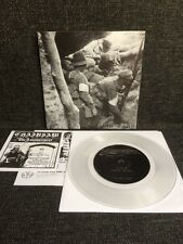 "Sacriphyx – Lone Pine 7"" Nuclear War Now! Productions CLEAR VINYL Death Metal"