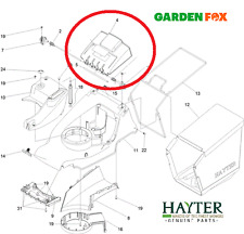 Genuine New Hayter Harrier 41 374A 375A 376A DEFLETTORE POSTERIORE 134-4017 436
