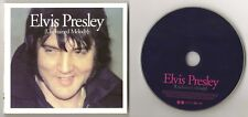 """ELVIS PRESLEY CD """"UNCHAINED MELODY"""" 2007 FTD #60 DELETED MOODY BLUE LIVE 1977 +"""