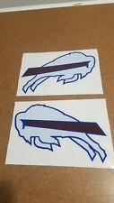 Buffalo Bills Custom Full Size Football Helmet Decal