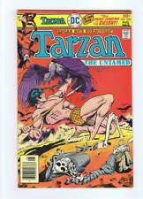 DC Tarzan #218,220,241,243-44,246-49,251-52,255-257